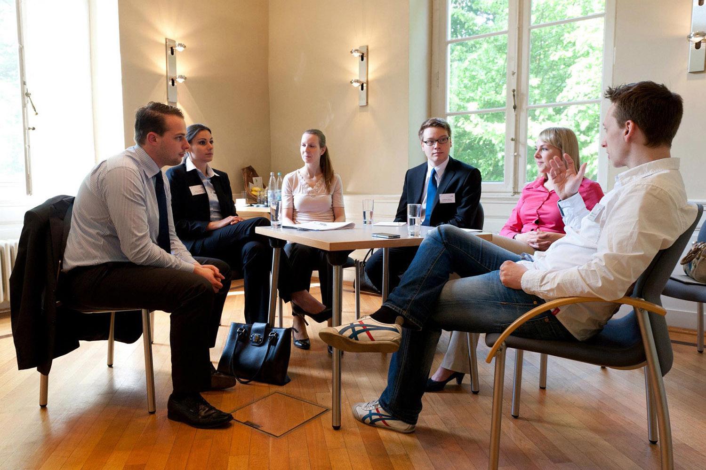 Gesprächsrunde bei YPC 2012