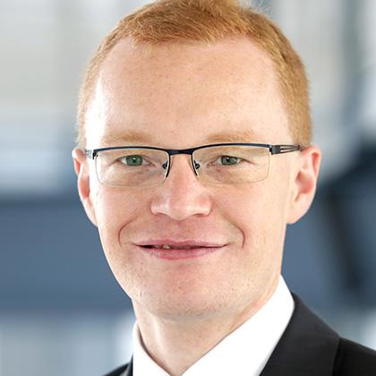 Dr. Alexander Zureck, Vorsitzender BG Ruhr-West