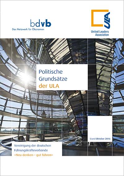 ULA Grundsätze, Titelblatt für Downloads