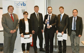 Verleihung bdvb BEST Economic Thesis Award, Gruppenbild, News