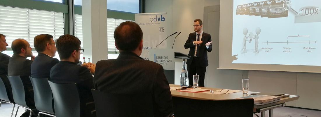 Verleihung bdvb BEST Economic Thesis Award, Vortrag, News