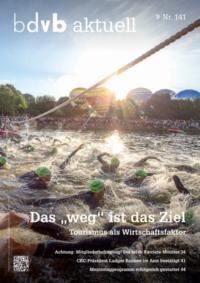 Titel/Cover Mitglieder-Magazin bdvb aktuell, Ausgabe 141