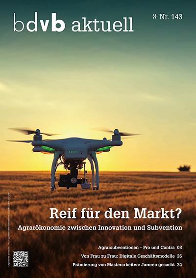 Titel/Cover Mitglieder-Magazin bdvb aktuell, Ausgabe 143